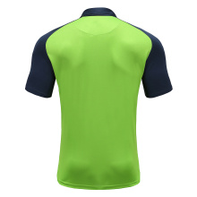 Polo da uomo Dry Fit Rugby Wear Verde