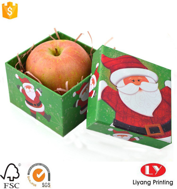 Christmas gift packaging cardboard box