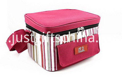Personalized Quality 600D Polyester Striped Cooler Bags (3)