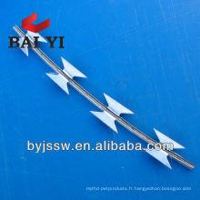 RBT galvanisé et enduit de PVC