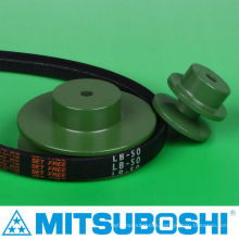 Best seller pulley for timing, flat, round and V belt by Mitsuboshi Belting and NBK. Made in Japan (v belt pulley sizes)