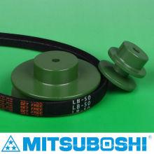 Polia de correia do compressor de ar com melhor vendedor para correias temporizadas, planas, redondas e V. Fabricado por Mitsuboshi Belting & NBK. Feito no Japão