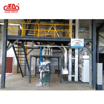 Dry-plastering Mortar Pre-mixing Feed Production Line