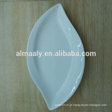 Hot-selling puro branco cerâmica china utensílios de mesa 7.5 8 prato de arroz placa de frutas de cerâmica