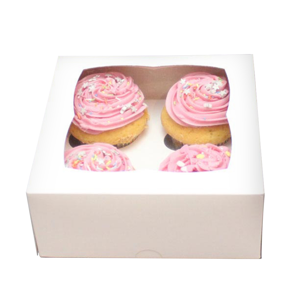 China Manufacturer Custom Cupcake Box Cheap Cupcake