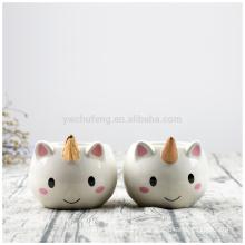 Lovely Ceramic 3D Cartoon Unicorn Coffee Mug