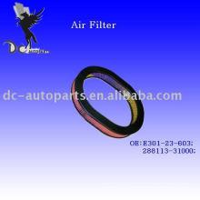 Auto Radial Air Filter for Mazda, hyundai