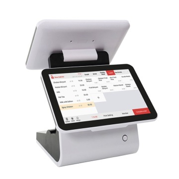 12,5 '' Dual Screen Restaurant Cafe POS