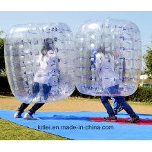 Nueva bola de la burbuja inflable del cuerpo de la manera del diseño / bola Zorbing de la burbuja del cuerpo para la diversión