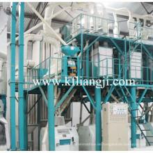 80 Ton Weizenmehl Fräsmaschinen, Mühlenwerk, Weizenmehl Produktionslinie
