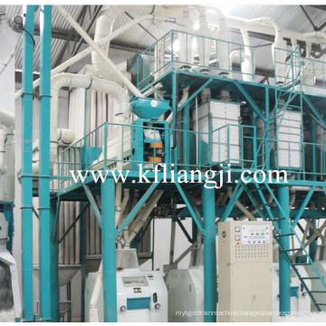 80 Ton Wheat Flour Milling Machinery, Flour Mill Plant, Wheat Flour Production Line