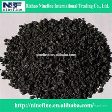 hot sale low sulphur calcined petroleum coke with competitive price