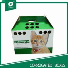 Umweltfreundliche kundengebundene Katzen-Haus-Kästen