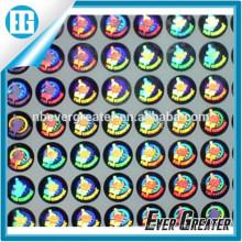 Customized Shape Logo Hologram Sticker OEM