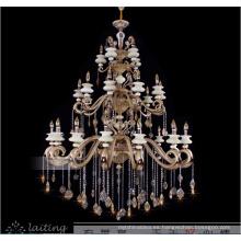 Lámparas de vela de aleación de zinc de estilo tradicional LT-88503