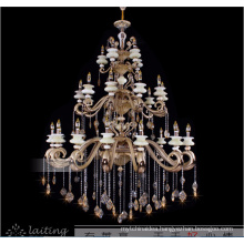 Traditional style zinc alloy candle chandeliers LT-88503