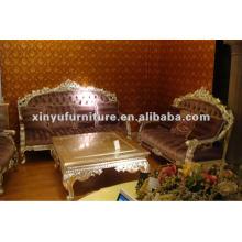 Mobiliário de madeira antigo sofá A10096