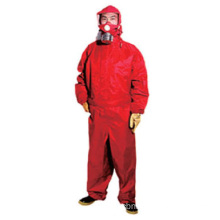 Gas tight chemical protective suit