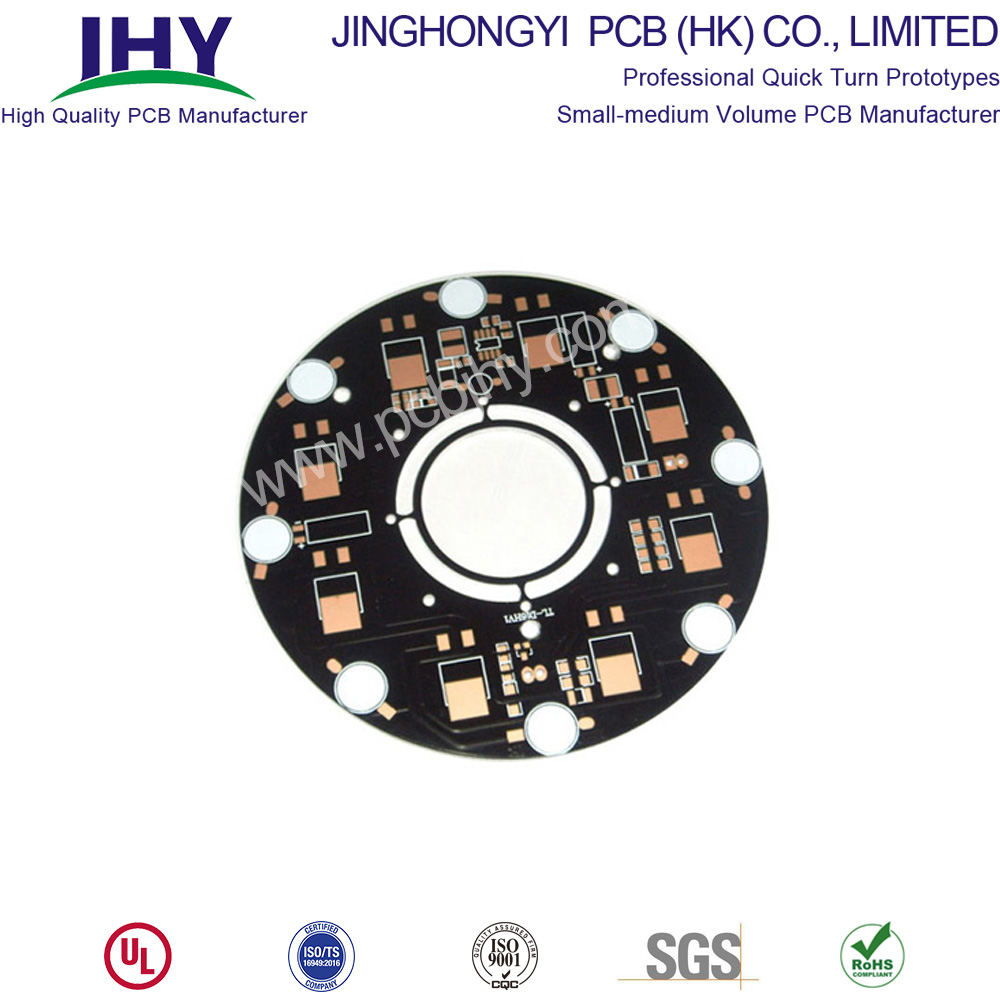 3.0W Black 1Layer Aluminum PCB