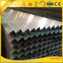 Perfil de alumínio solar anodizado personalizado para a factura do painel solar / célula solar