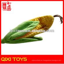 Emulational peluche de maíz felpa linda caja de lápices