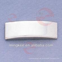 Benutzerdefiniertes Logo aus Metallschild mit Namensschild für Tasche / Handtasche (N24-753S)