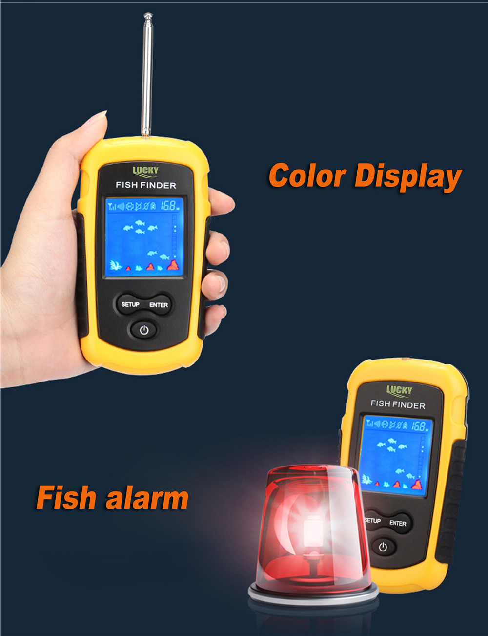 Fish Depth Finder