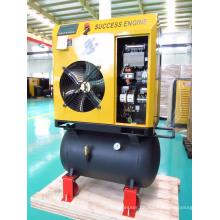 4 kW 5 PS Schraubenluftkompressor mit Lufttank (SEC4A)