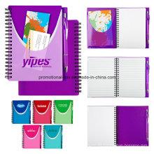 Cuadernos promocionales con bolígrafos