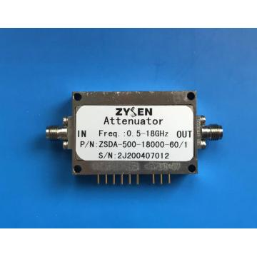 Atenuador digital de 0.5 a 18GHz 60dB