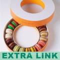 Qualitäts-Speicher-Paket-kundenspezifischer Papierpappmacharon-Kasten