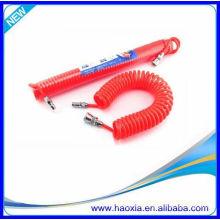 Tubo neumático de resorte de plástico 9mm con rojo amarillo azul blanco negro