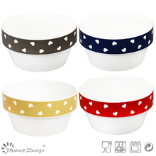 12.5cm New Bone China Bowl with Decal