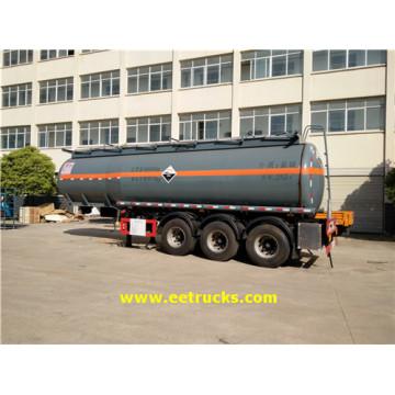 Petroleros del remolque del ácido clorhídrico 28500L 30T