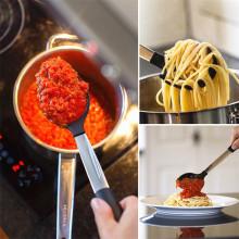 Accessoires de cuisine de cuisine en silicone / ensemble d'ustensiles de cuisine