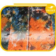 Tissu de brocart de Bazin de coton de stock Vêtement africain de Brocade de vêtement de Guinée pour la partie