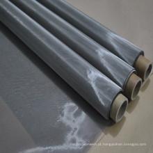 Malha de arame de metal em aço inoxidável de 325mesh / inch