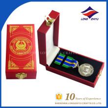 Оптовая продажа индивидуальные высокое качество металла медали с коробками
