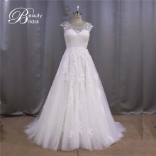 A Line Lace Bridal Wedding Dress