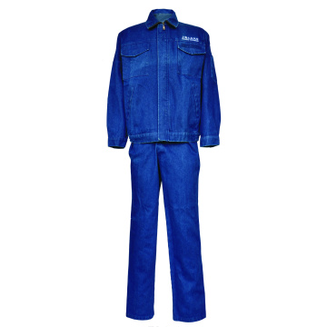 Costume de denim ignifuge