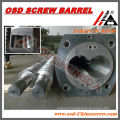 CMT TITAN 72 CONICAL TWIN SCREW BARREL FOR PVC PIPE AND PROFILE EXTRUSION