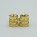 press in knurled brass insert nut