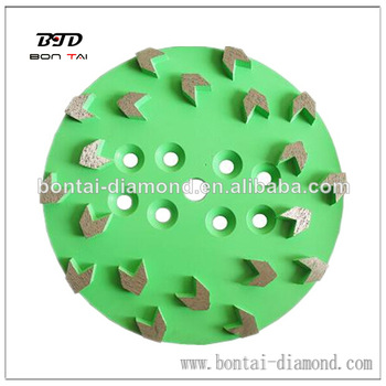 250mm_Diamond_grinding_plate_with_arrow_segments