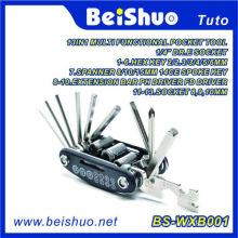 13-в-1 многофункциональный карманный инструмент для ремонта велосипедов