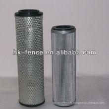 Cartouche de filtre en treillis métallique perforé industriel
