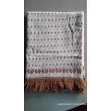 Best Quality Cashmere Jacquard Shawl -Knitting