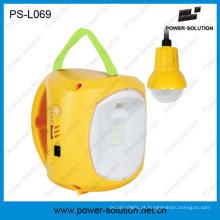 Power Solution 4500mAh / 6V Lanterna recarregável de energia solar com carregador de celular