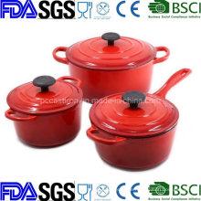 10′′ Enamel Cast Iron Casserole Cookware China Supplier