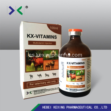 Animal Vitamin B12 y Butafosfan Inyección 100ml