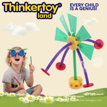 Plastic Opend End Construction Toy for Training Imagination